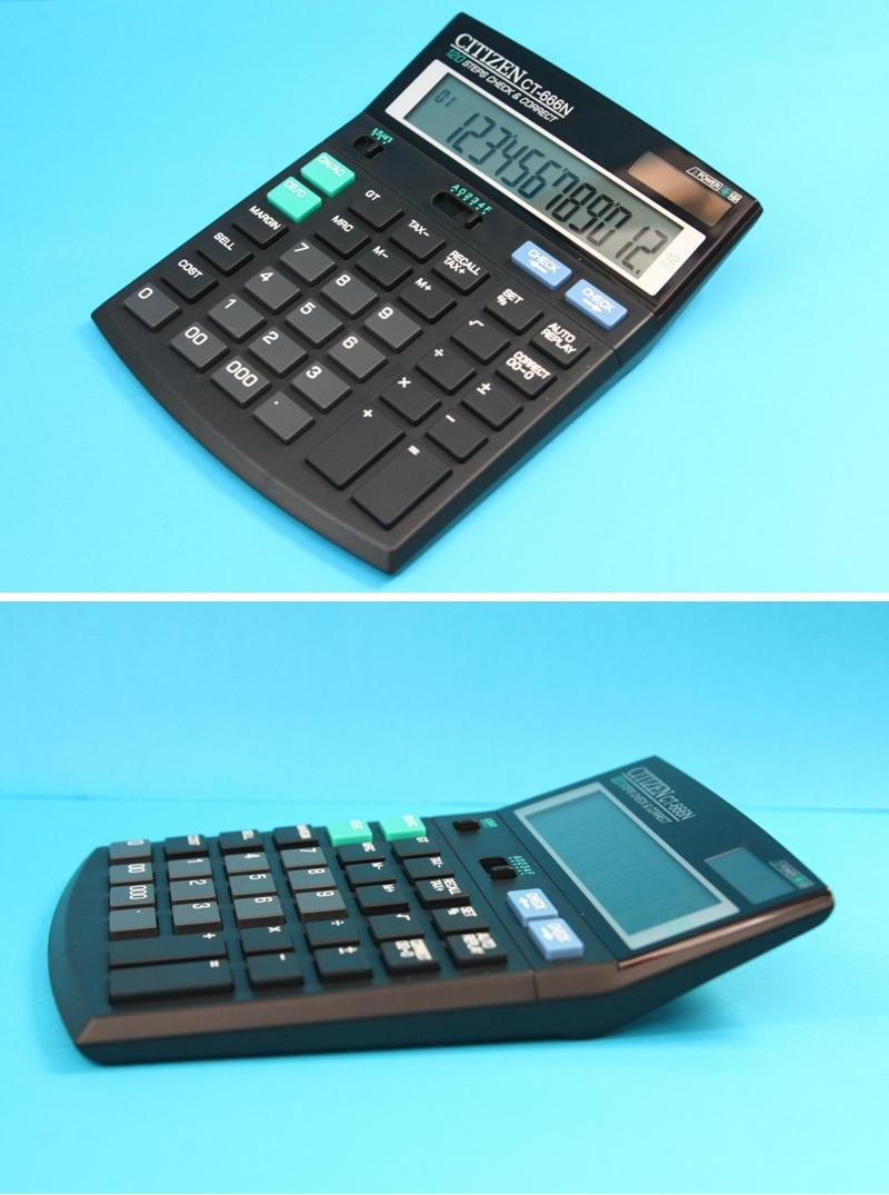 CITIZEN Electronic Calculator CT-666N