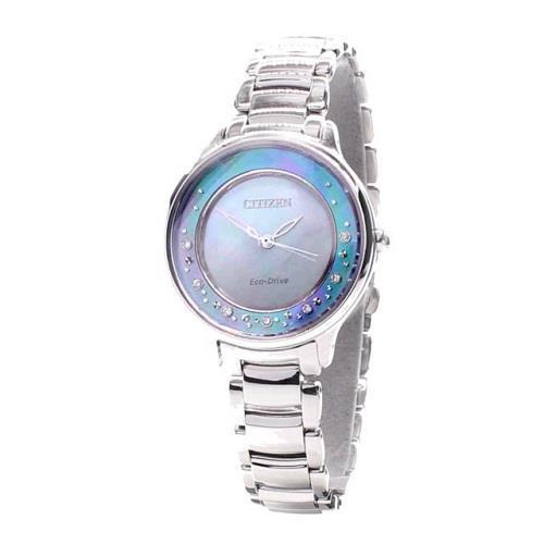 98f3fdf9772 CITIZEN L Circle Of Time Eco-Drive EM0380-65D EM0380-81N Ladies Watch. ‹ ›
