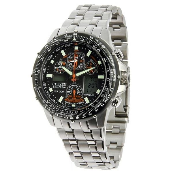 watch citizen skyhawk drive en buy shop eco watches titanium mens