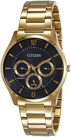 CITIZEN Quartz Muti-Dial Black Dial AG8353-81E AG8353-81 Watch
