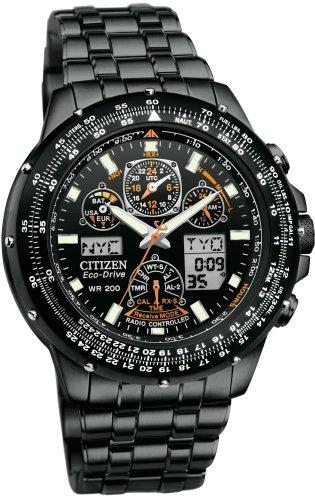 mens skyhawk lrg radio watches world eco citizen watch drive time products controlled men titanium s promaster