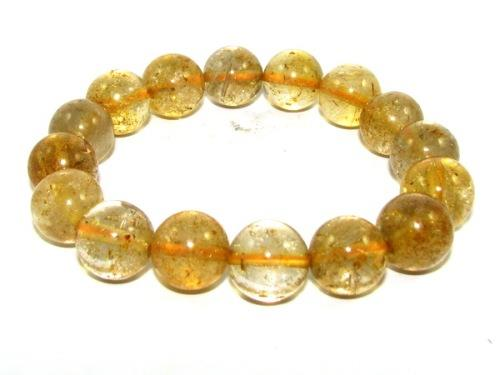 bracelet luck shui round feng beads for financial citrine faceted beautiful