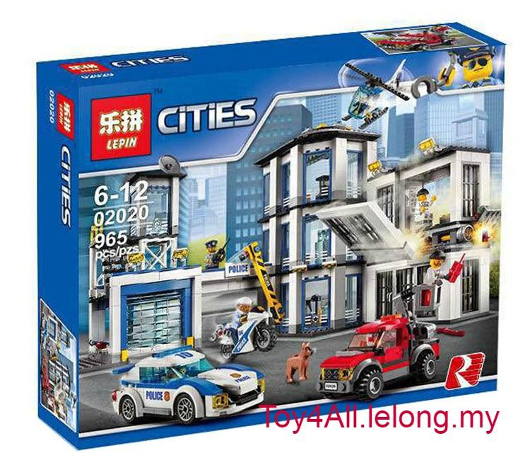 CITY POLICE-POLICE STATION 60141 LEGO (end 8/1/2019 4:57 PM)