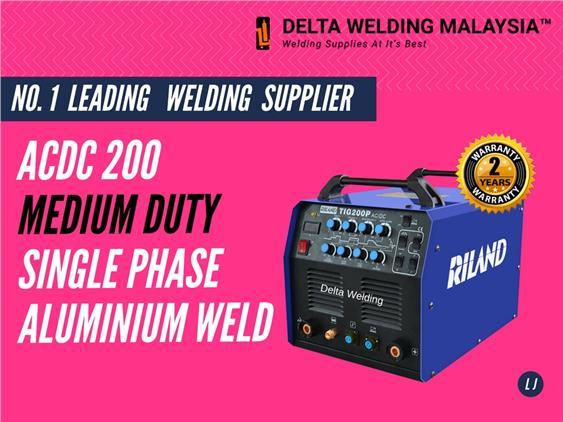 CIVIL ENGINEERING ALUMINIUM WELDING SET MALAYSIA ACDC 200