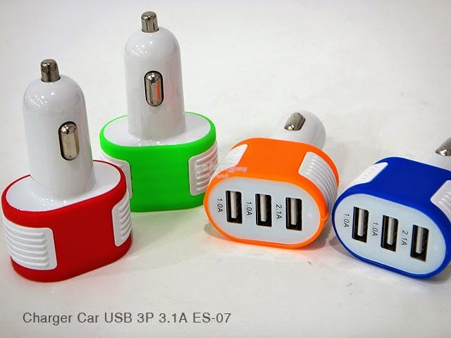 CIYOCORPS ES-07 Universal USB Interface 3 Port 3.1A Car Charger