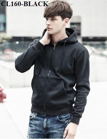 2399fef44b6 CL160 Korean Style Smart Casual Jacket / Sporty Hooded Sweater