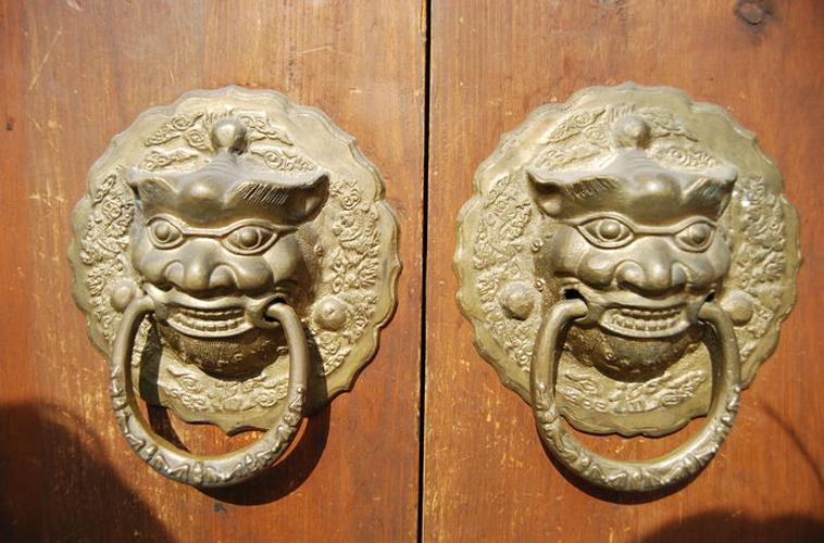 CLASSIC ANTIQUE BRASS CROSS LION DOOR KNOCKER DIAMETER 18 CM & CLASSIC ANTIQUE BRASS CROSS LION DOOR (end 5/1/2018 2:15 PM) pezcame.com