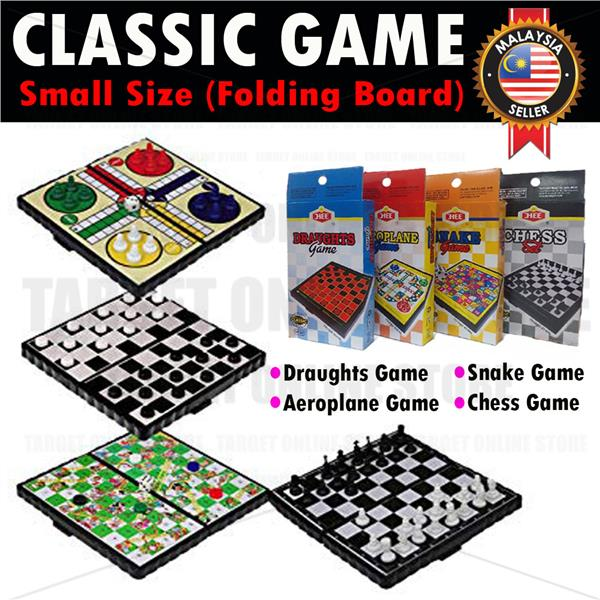 Classic Game Chess/ Snake/ Draughts/ Aeroplane for Fun Adult Kids