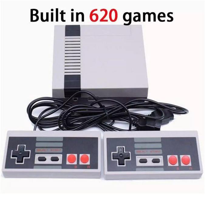 Classic Mini Game Console Built in 620 TV Video Game With Dual Control
