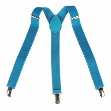 Classic Stylish Suspenders For Male Female Man Men - Sky Blue