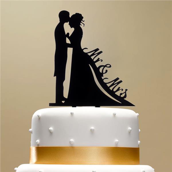 Romantic Wedding Cake Toppers