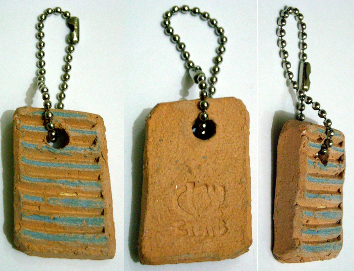 Clay Craft Key Chain
