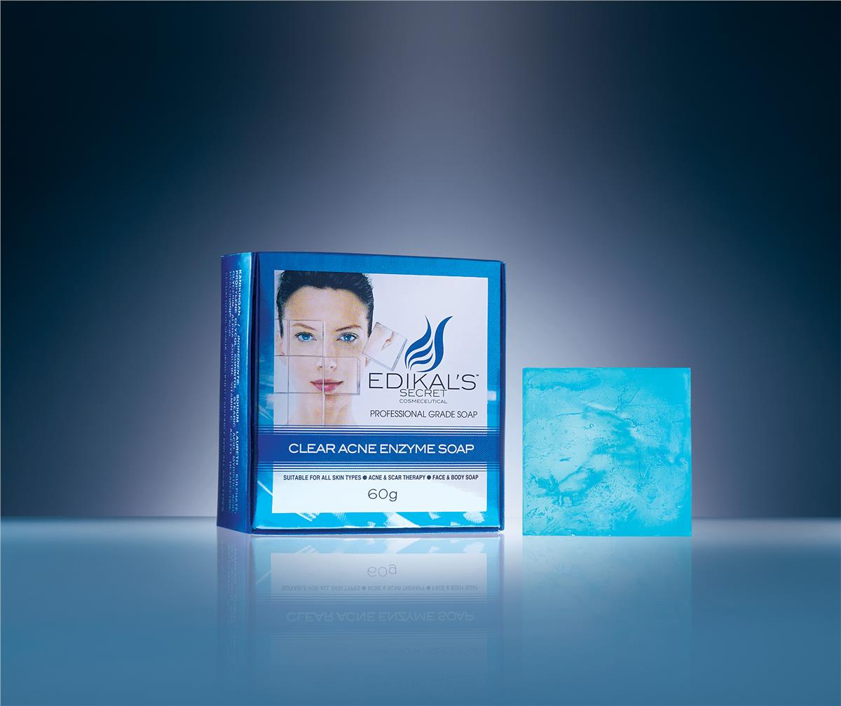 Clear Acne Enzyme Soap by Edikal's secret ~ Acne & Scar Theraphy~