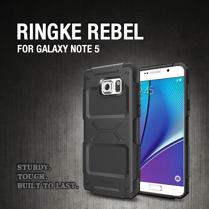 best website 11b58 a197e [Clear] Ori Rearth Ringke Rebel Case for Samsung Galaxy Note 5