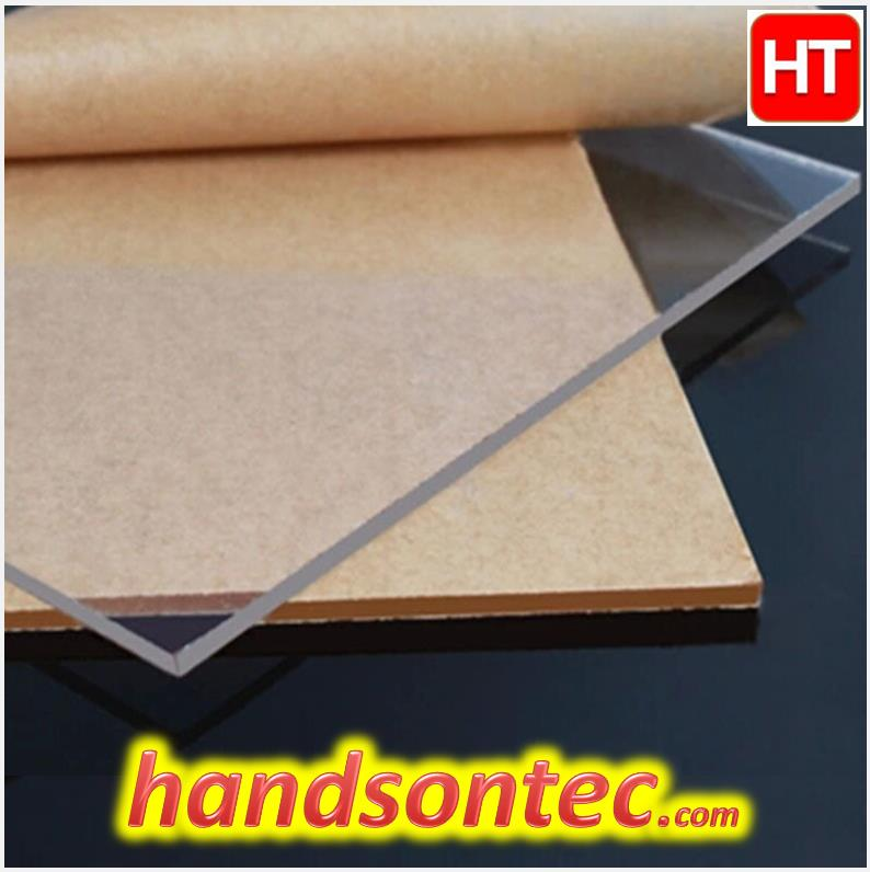 Clear Polycarbonate PC Sheet (5x200x250)mm