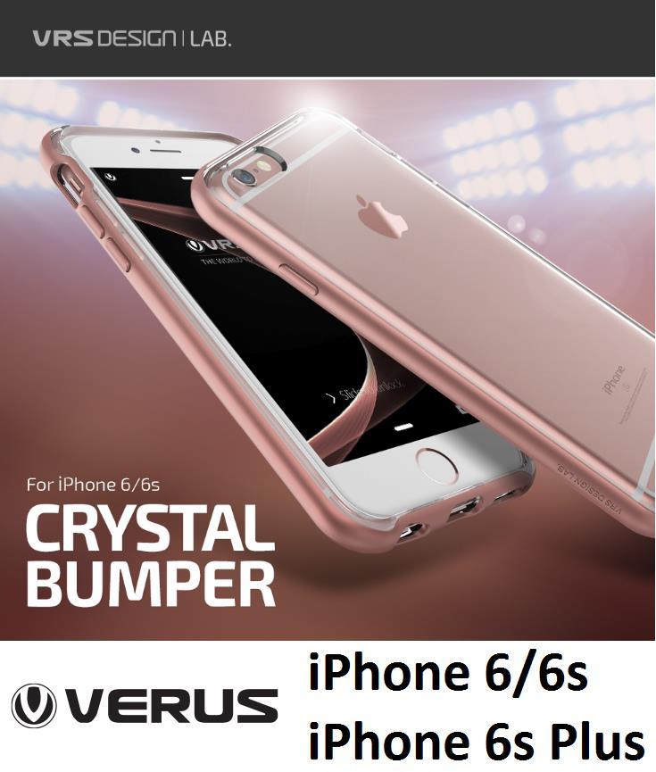 best website 84a32 a4257 [Clear] New VRS Design Crystal Bumper - iPhone 6 6s   6 Plus 6s Plus