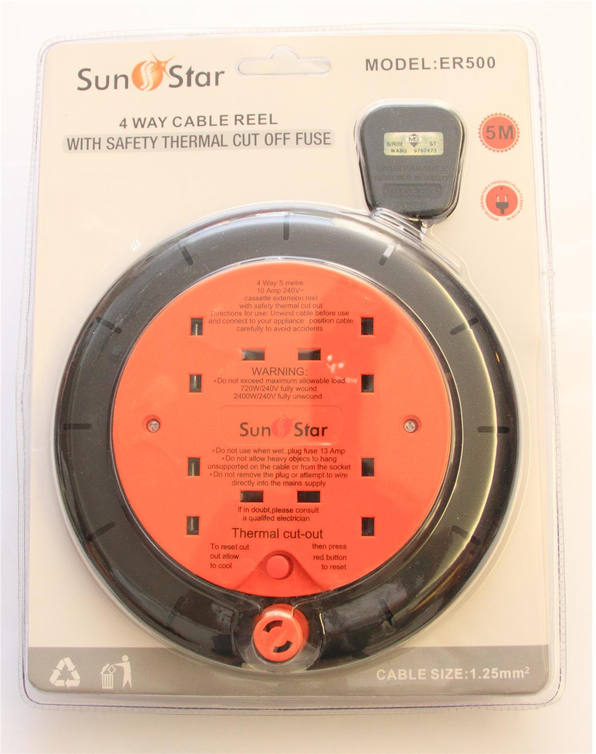 CLEARANCE!!! 4 Way Cable Reel