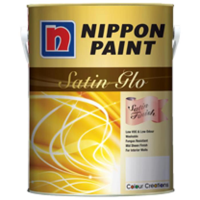 CLEARANCE!!!! Nippon Satin Glo Raw Silk 5Liter Interior Paint