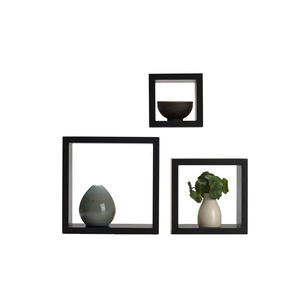 CLEARANCE!!! Set Of 3 Cubes Wall Mounted Floating Shelve Display
