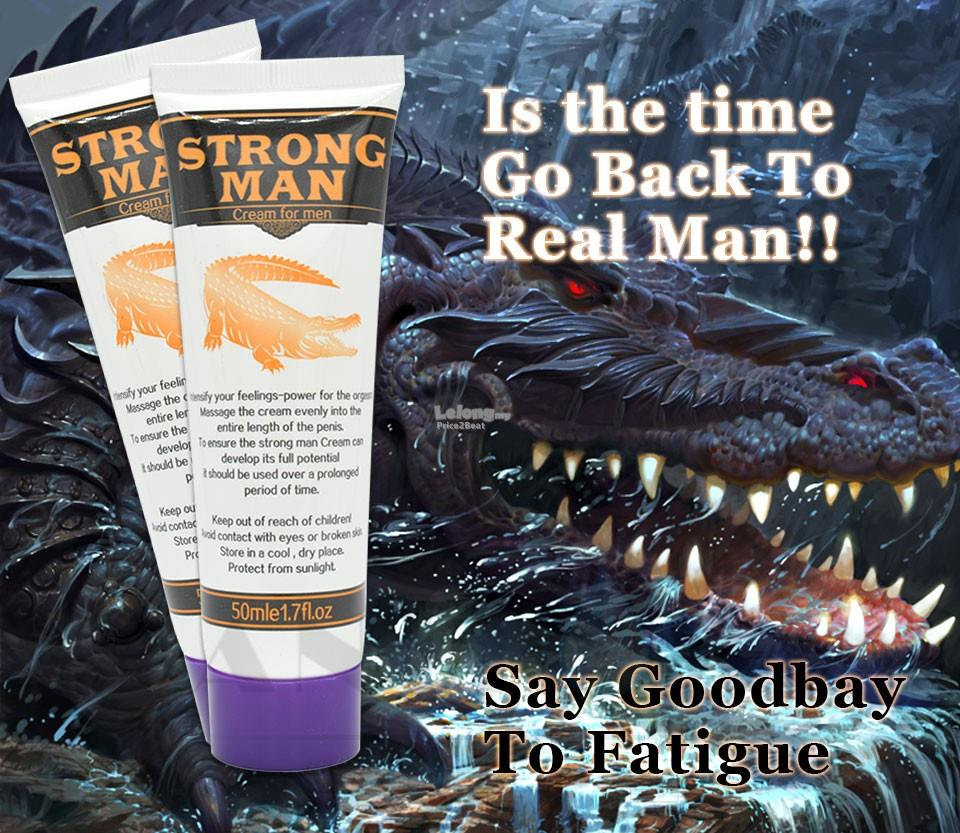 **CLEARANCE** STRONG MAN Enlargement Male Delay Cream - 50ml