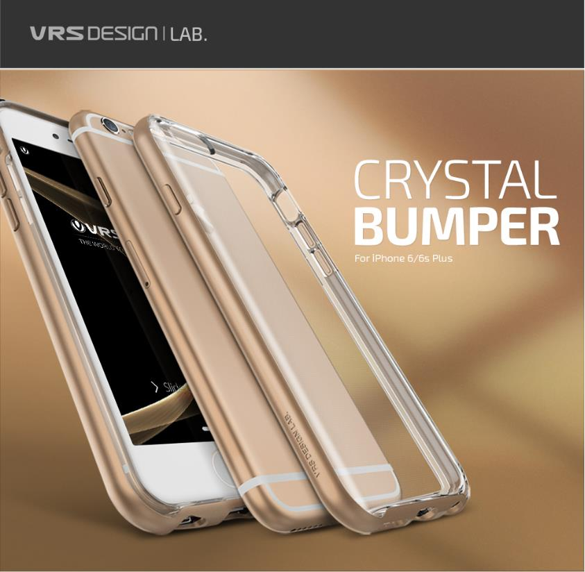 save off d0638 51463 [Clearance] VRS Design NEW Crystal Bumper Case - iPhone 6s / 6s Plus