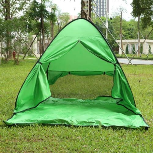 factory price e621b 206e3 CLEYE INSTANT SETUP 2 PERSON BEACH TENT WITH DOOR CURTAIN (MOSS)