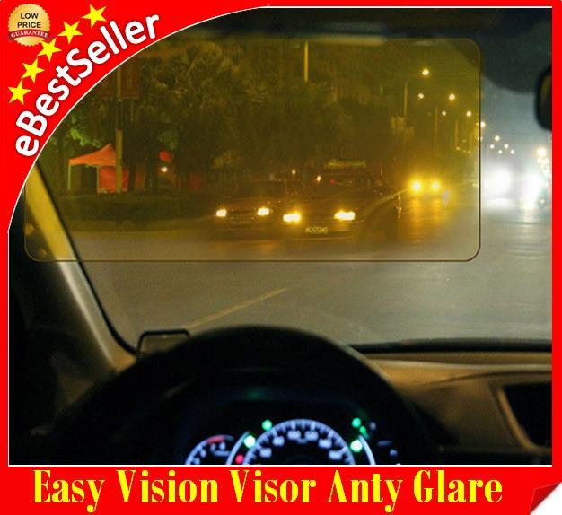 Clip ON EASY Vision Day   Night Sun Visor Anti-Glare Dazzle UV Blocker. ‹ › 4304c10aed8