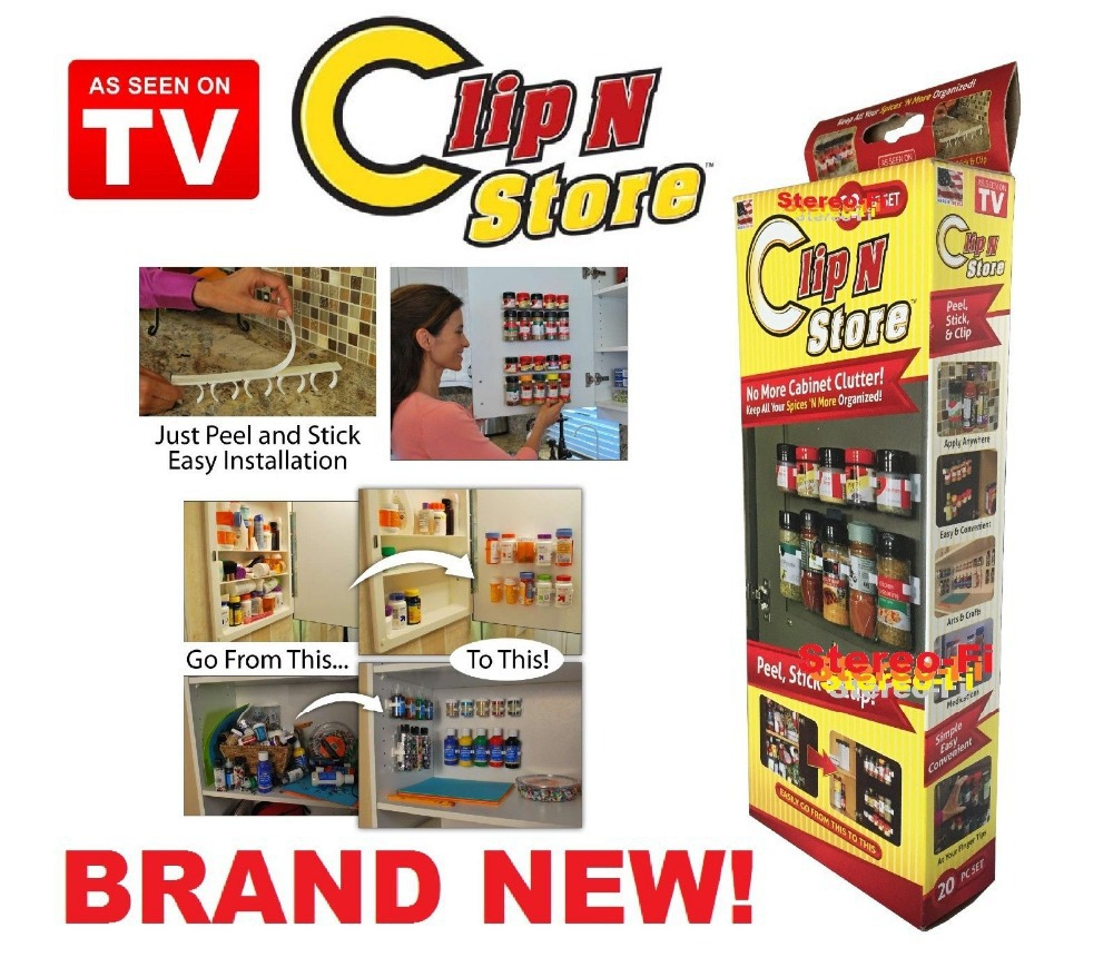 Clip N Store Spice Holder
