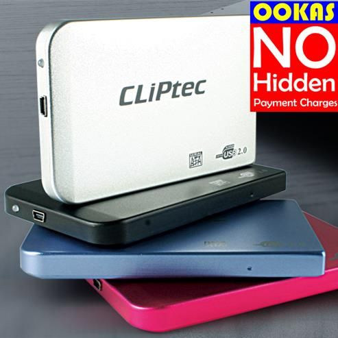 CLIPTEC External hard Drives price in Malaysia Best CLIPTEC Source · CLiPtec 2 5 USB 2