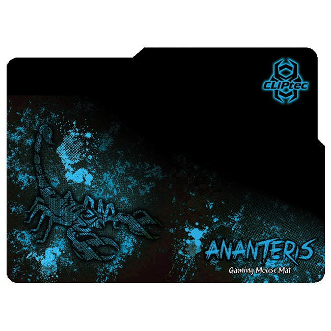 CLiPtec ANANTERIS 2400dpi Gaming Mouse and Mat Combo Set (RGS519)
