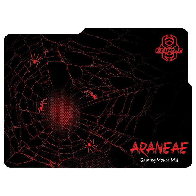 CLiPtec ARANEAE 2400dpi Gaming Mouse and Mat Combo Set (RGS517)