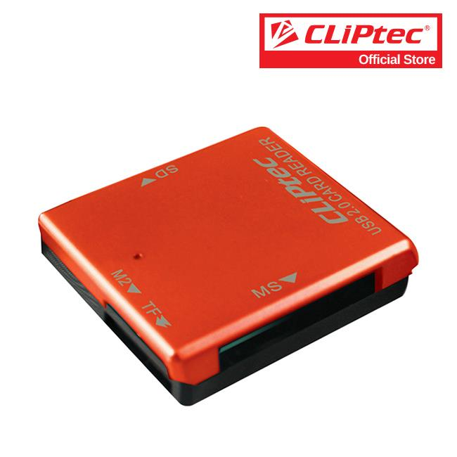 CLiPtec BASIC-4 USB 2.0 Card Reader RZR507
