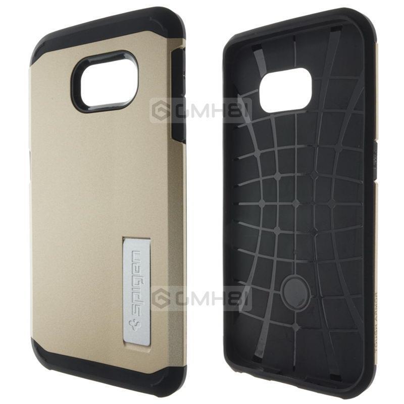 low priced b1e10 0ef3c CLONE Spigen SGP Slim Armor Stand Cover Case Samsung Galaxy S6 Edge