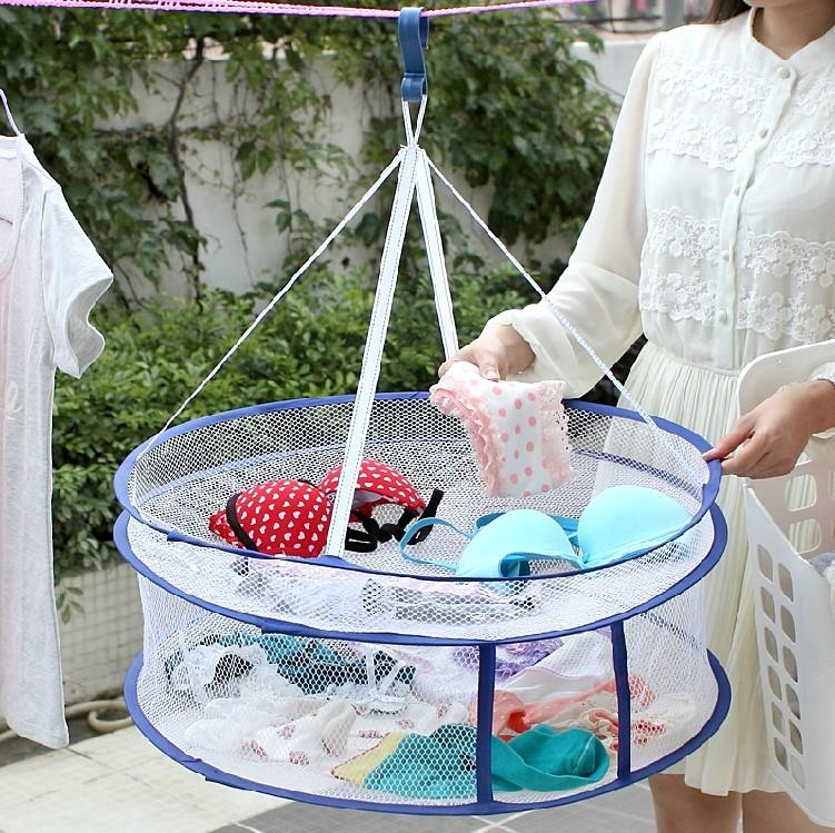 Clothes Drying Basket Creative Fordable