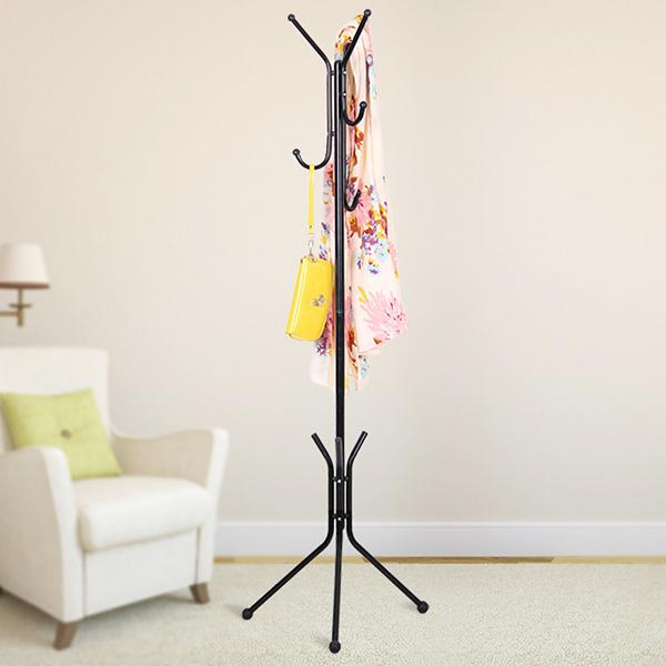 Clothes And Handbag Hanger Stand Coat