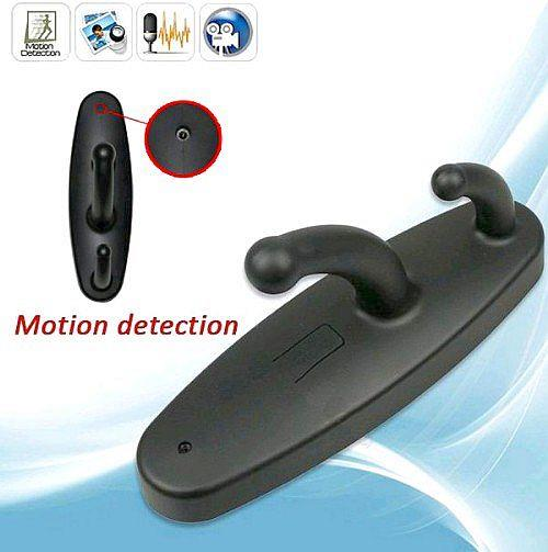 Clothes Hook Pinhole Camera Recorder (DVR-42).