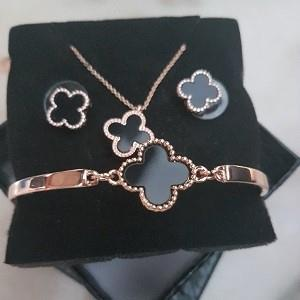 Clover Leaf Fashion Jewellery Set