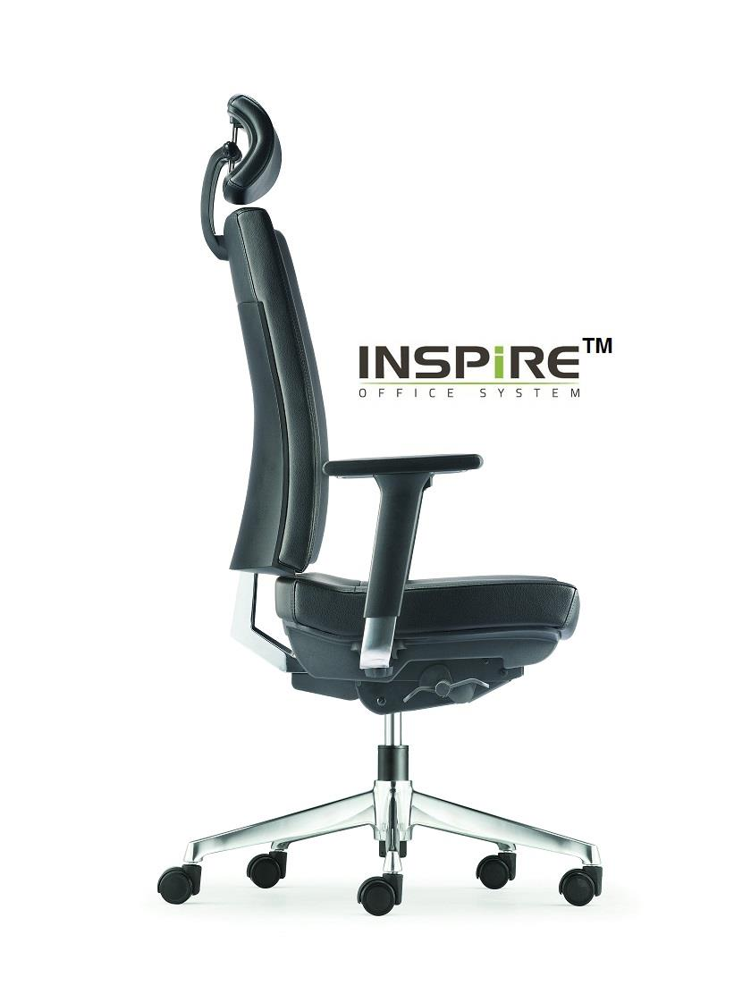 Clover Series P.U Leather High Back Office Chair