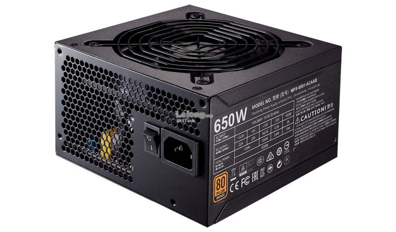 CM MWE 650W 80Plus Bronze, Fix Cable, Full Range