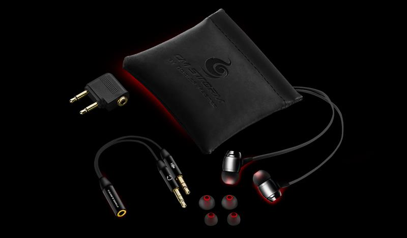 CM Storm Pitch Pro Gaming Earphone