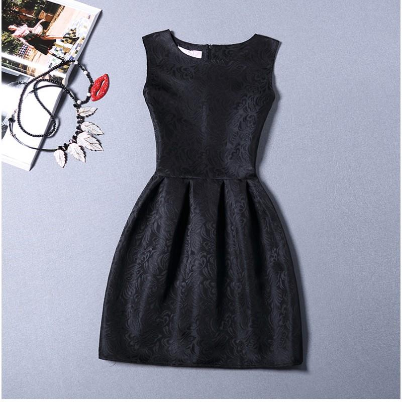 [CM212058-NEW] Pretty Dress Black