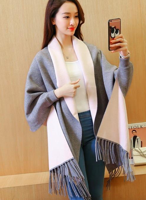 [CM37278G-NEW] Elegant Cardigan Grey