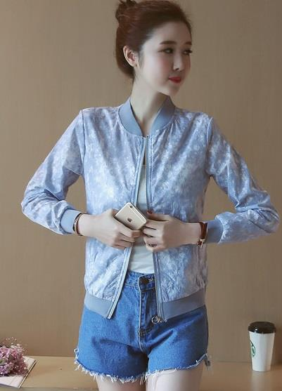 [CM38222-NEW] Pretty Jacket Blue