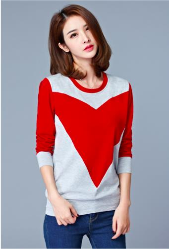 [CM74202R] Fashion Women Stylish Top Red