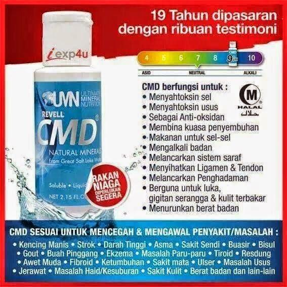 CMD 120ML CONCENTRATED MINERAL DROPS (CMD) 120ml