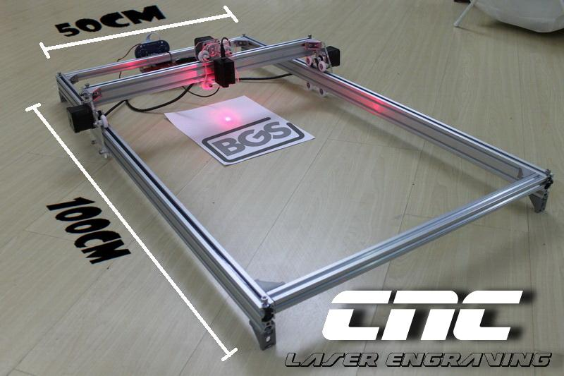 CNC Laser Engraving Plotter Laser Machine .Sizes1000x500mm