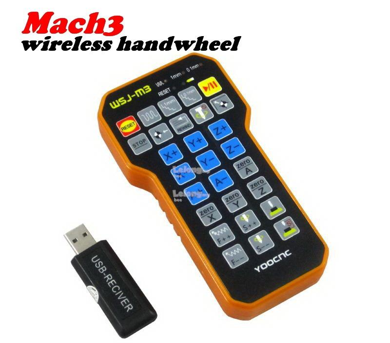 CNC ~ MACH3 Wireless Control USB Handwheel CNC Machine