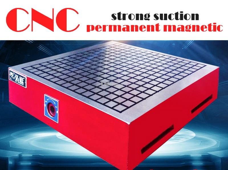CNC permanent magnetic strong suction gongs magnetic disk milling