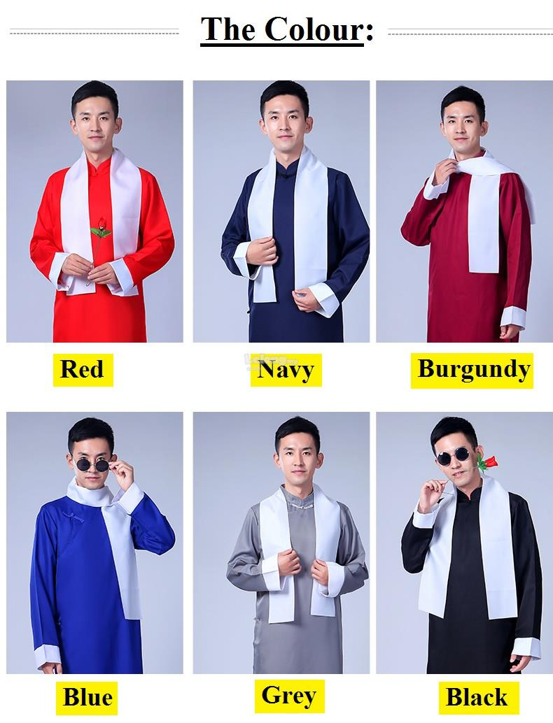 CNY 2018 - Cross Talk Cheongsam for men