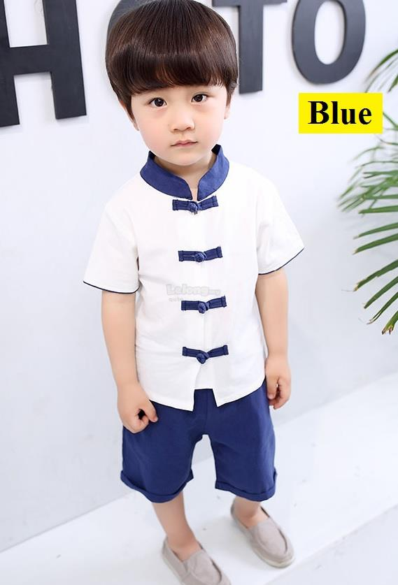 CNY 2018 - Modernised Cheongsam for boys